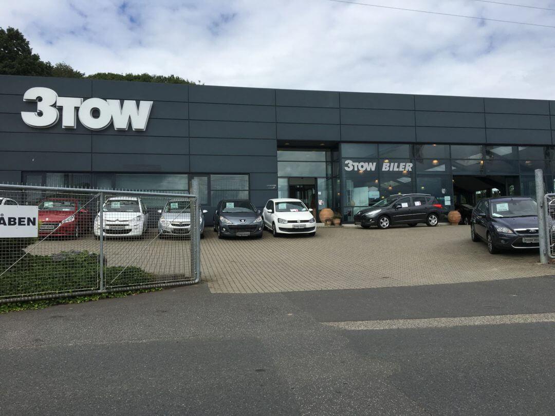 3tow biler i Silkeborg