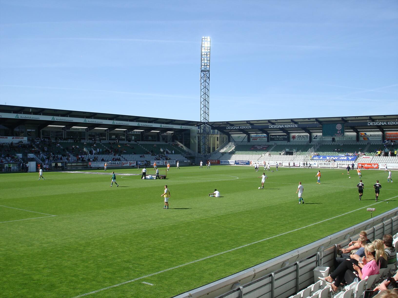 Bernio Verhagen Viborg stadion